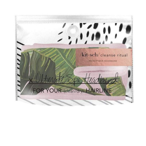 Kit-Sch Micro Spa Headband Palm Leaves 1418