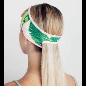 Kit-Sch Micro Spa Headband Palm Leaves