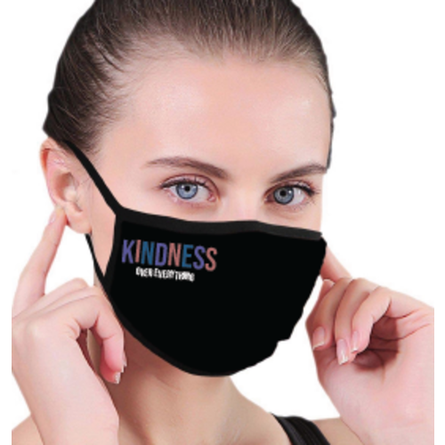 house of tens Kindness Over Everything Facemask
