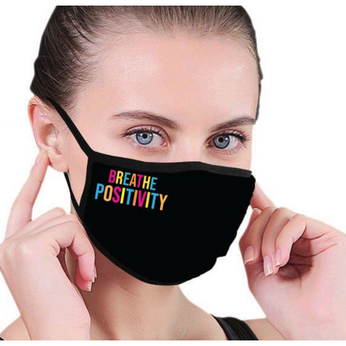house of tens Breathe Positivity Facemask