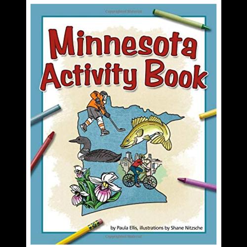 adventurekeen AdventureKeen MN Activity Book