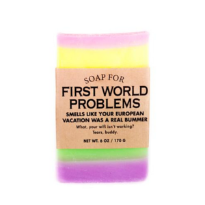 whiskey river soap Whiskey River First World Problems Soap