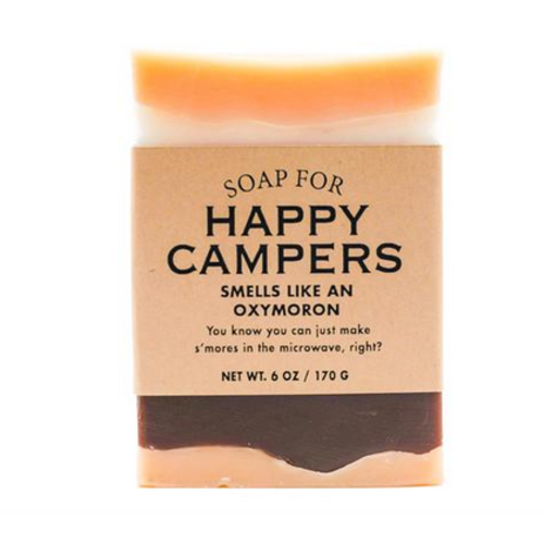 whiskey river soap Whiskey River Happy Campers Soap
