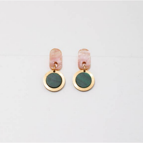 Larissa Loden Larissa Loden Ruth Earrings Pink Mal
