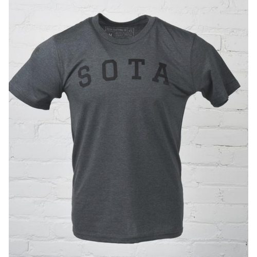 Sota Clothing Sota Porter Unisex Tee Hthr Smoke