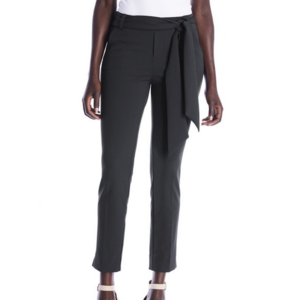 i love tyler madison I Love Tm Trouser Belted Scarf Blk