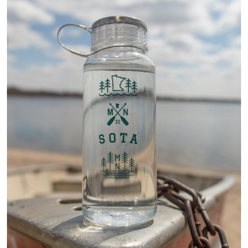 Sota Clothing Sota Cold Spring h2go Water Bottle Clear