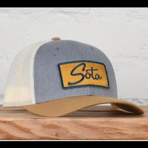 Sota Clothing Sota Minnehaha Snapback Gold/Navy/Gray
