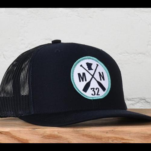 Sota Clothing Sota Pike Lake Snapback Hat Navy/Teal