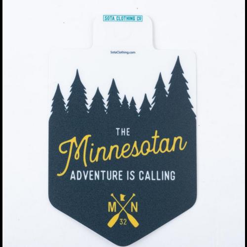 Sota Clothing Sota The Minnesotan Sticker