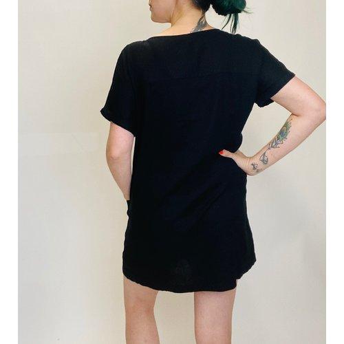 Others Follow Others Follow Figue Mini Dress Blk OD202393