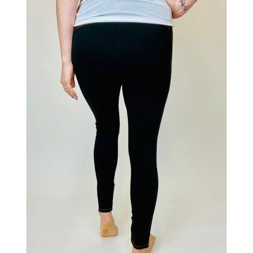 Lysse Lysse Kara Split Legging Black 2611
