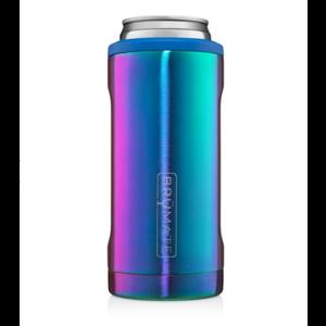 brumate Brumate Hopsulator SLIM Can Cooler Rainbow Titanium