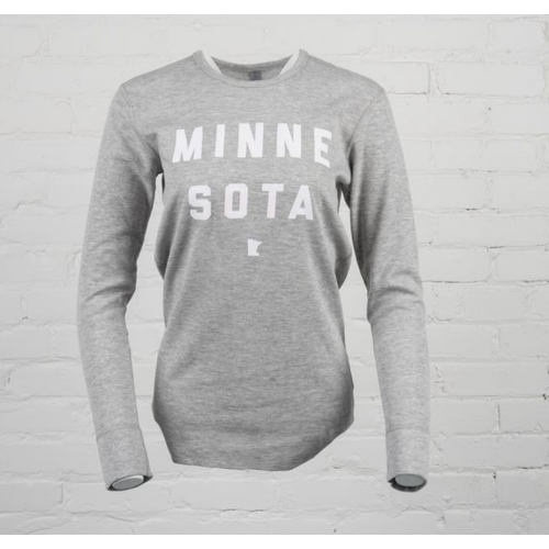 Sota Clothing Sota Nesbitt Long Sleeve Thermal Heather Grey/Wht