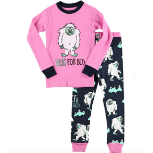 lazy one Lazy One Yeti For Bed PJ Set