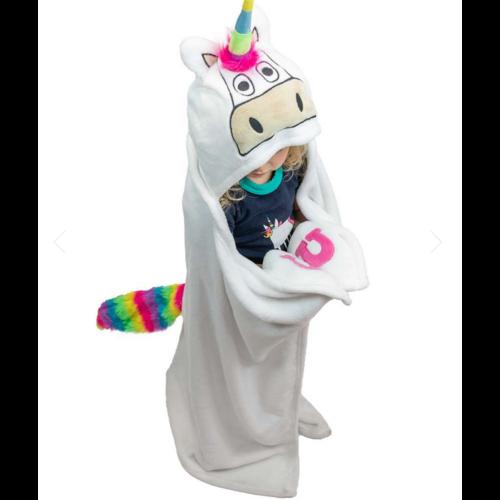 lazy one Lazy One Unicorn Critter Blanket AB327
