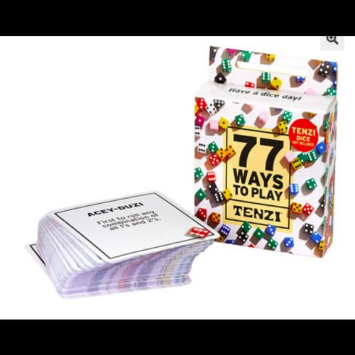 carma games Carma Games 77 Ways to Play Tenzi 004-T77