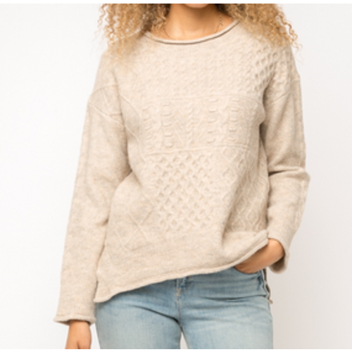 Mystree Mystree Taupe Sweater