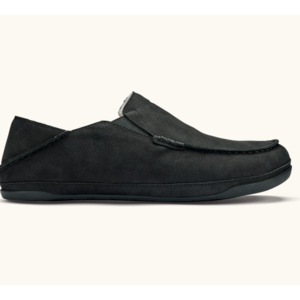 OLUKAI Olukai M's Kipuka Hulu Slipper Black/Black