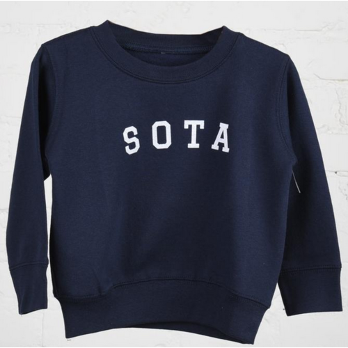 Sota Clothing Sota Sugarloaf Toddler Crewneck Navy/Wht