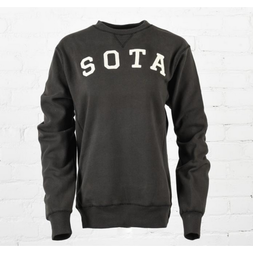 Sota Clothing Sota Lakeview Unisex Crewneck Black/Cream