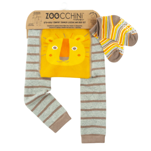 kidcentral USA Zoocchini Legging and Sock Set