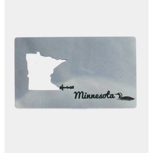 zootility Zootility Wallet Bottle Opener Minnesota