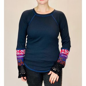 free people FRee People In the Mix Cuff BLK COMBO
