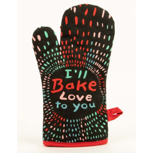 BLUE Q Blue Q Bake Love To You Oven Mitt