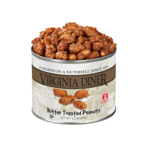 Virginia Diner Butter Toasted Peanuts 10oz