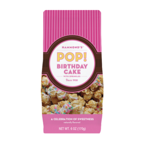 hammonds candies Hammonds Popcorn Birthday Cake