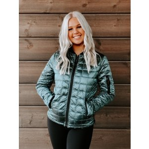 Anorak Quilted Bomber Kryptonite 50792INU
