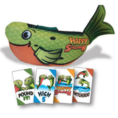 Continuum Games Happy Salmon Game Green Fish NSG600