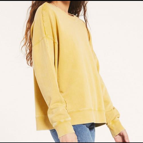 Z Supply Z Supply Kyro Sweatshirt Wsh Gold ZT203501