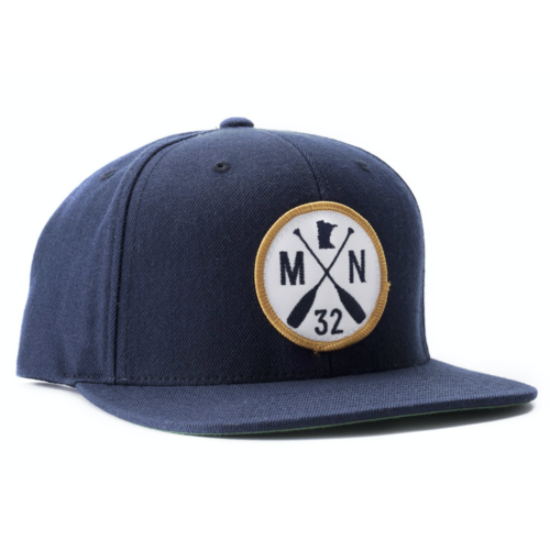 Sota Clothing Sota Scout Snapback Hat Navy/Gold