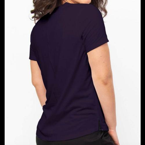 TASC Tasc Easy V Neck T Deep Violet TW759S-505