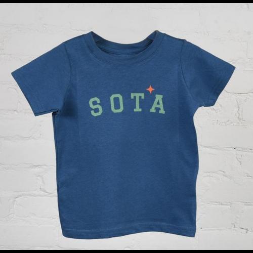 Sota Clothing Sota Cottonwood Toddler T Shirt Indigo/Teal