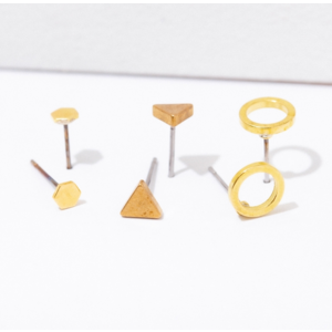 Larissa Loden Larissa Loden Shapes Post Earring Pack