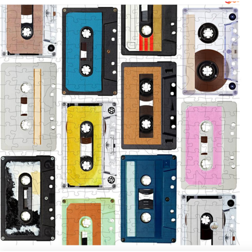 tech candy Trove I Go Puzzle 250 Mix Tapes