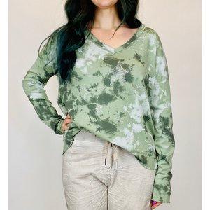 brand bazaar Brand Bazaar Multi Stars Top Khaki Green