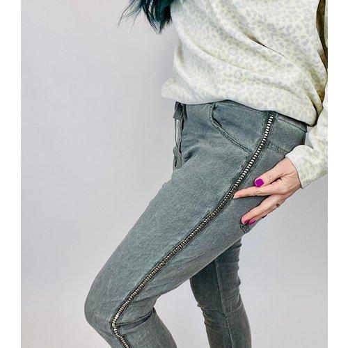brand bazaar Brand Bazar Stone Pant Grey