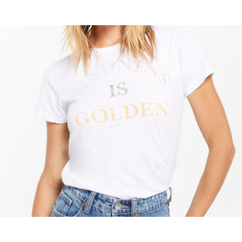 Z Supply Z Supply Kindness is Golden T Wht