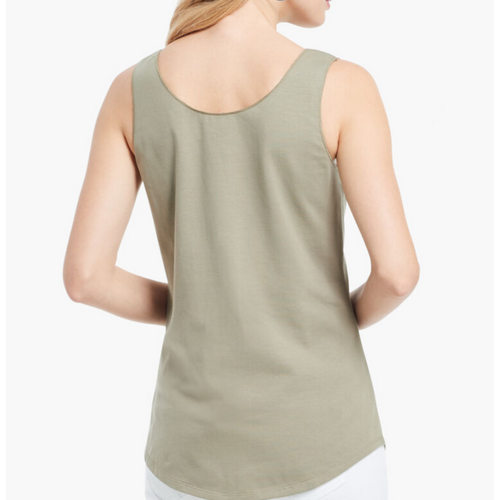 Nic & Zoe Shirt Tail Perfect Tank ODG S211030