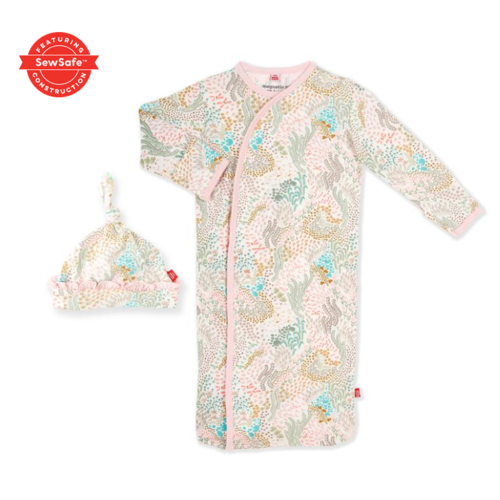 magnificent baby Mag Baby Coral Cay Gown Set 11342