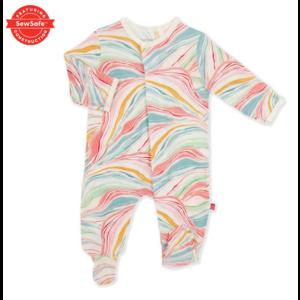 magnificent baby Mag Baby Twirls Swirls Mag Footie
