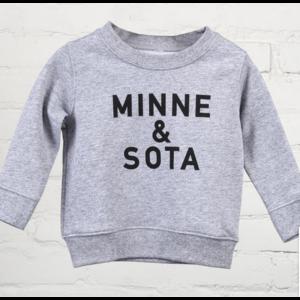 Sota Clothing Sota Grey Duck Toddler Crewneck Hthr Gry/Blk