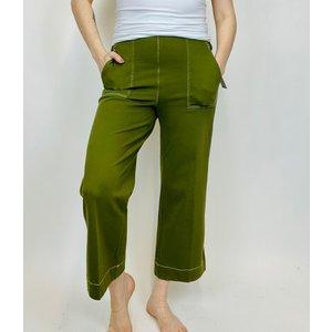 Lysse Lysse Jade Wide Leg Khaki Jungle