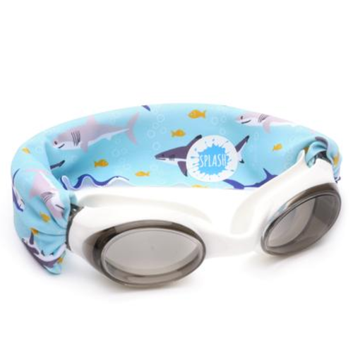 splash swim goggles Splash Swim Goggles Shark Attack