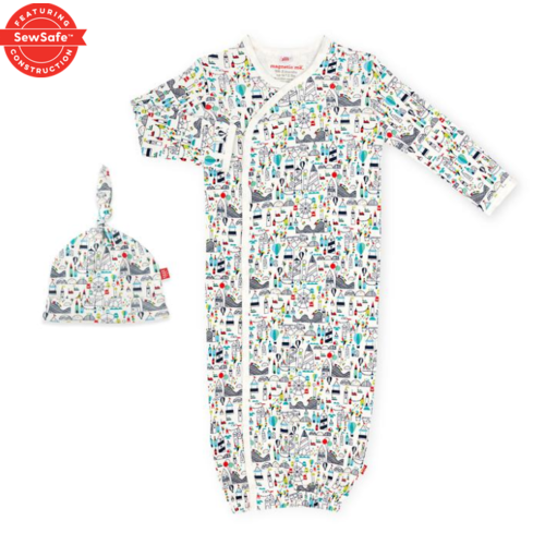 magnificent baby Mag Baby Fun Fair Gown Set