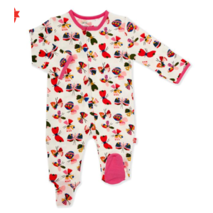 magnificent baby Mag Baby Flitter Flutter Magnetic Footie